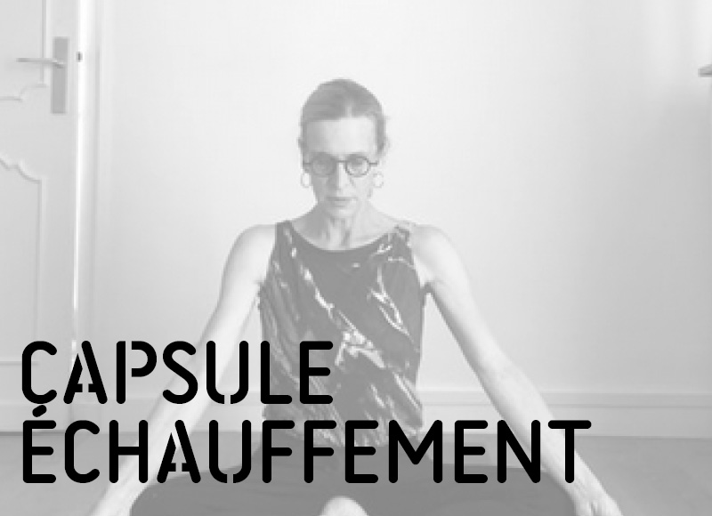 echauffement avec Mathilde Monnier