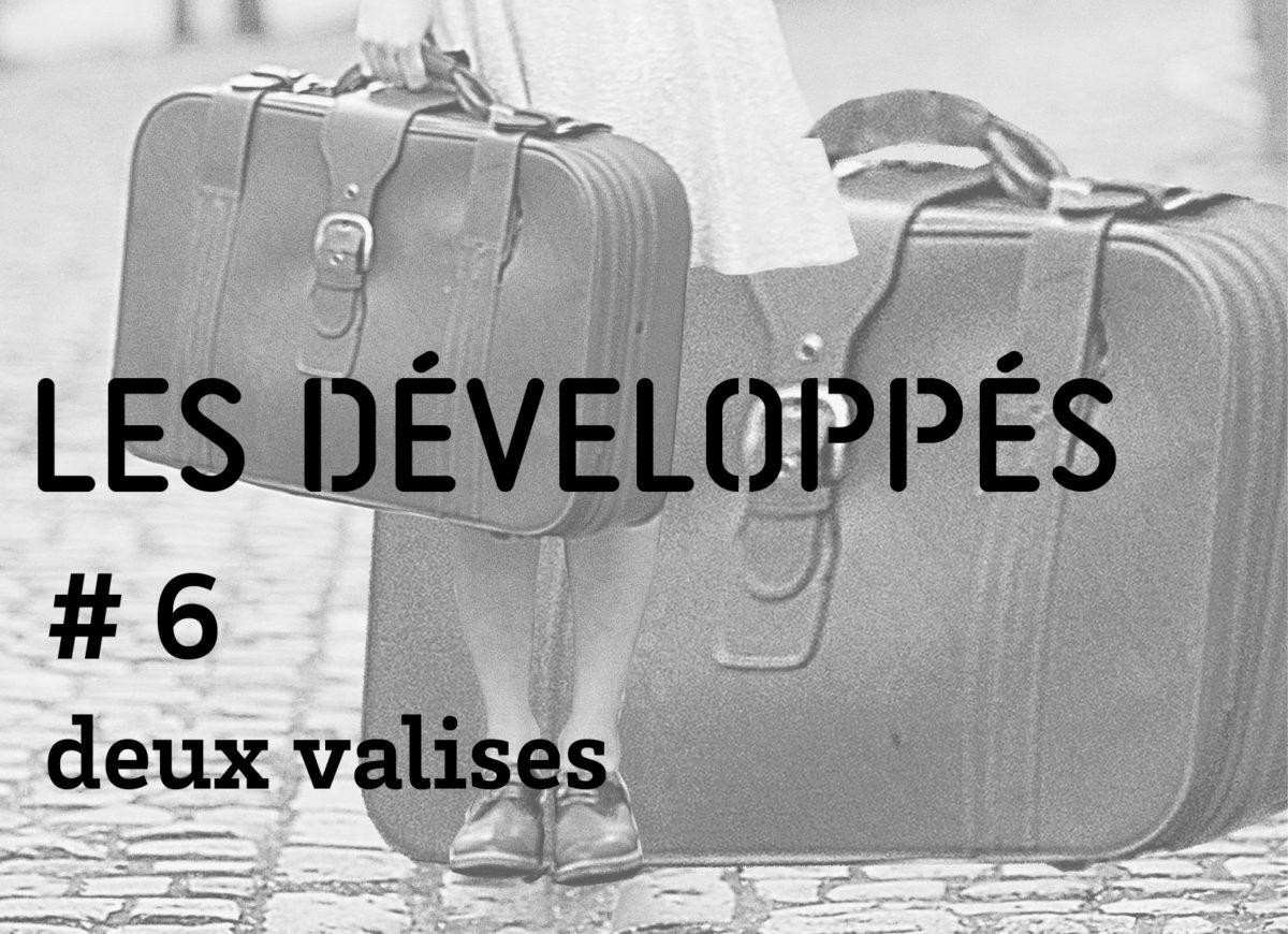 Developpés No 6 - deux valises