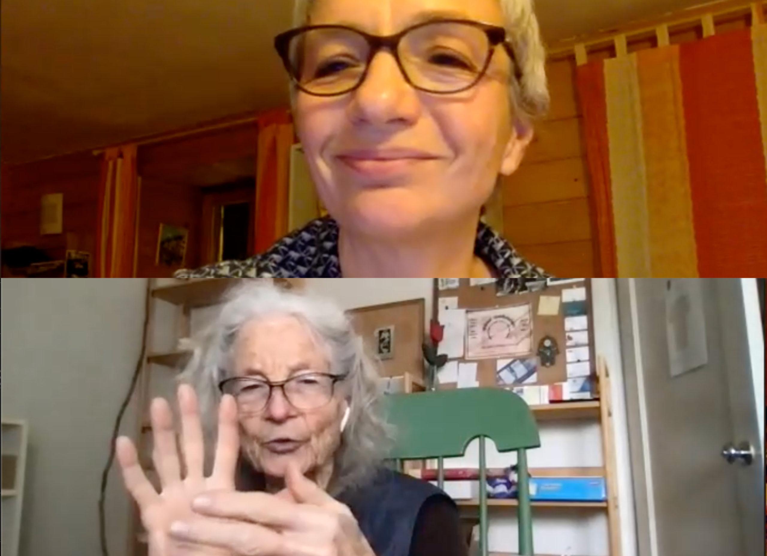 conversation Simone Forti Agnes Benoit