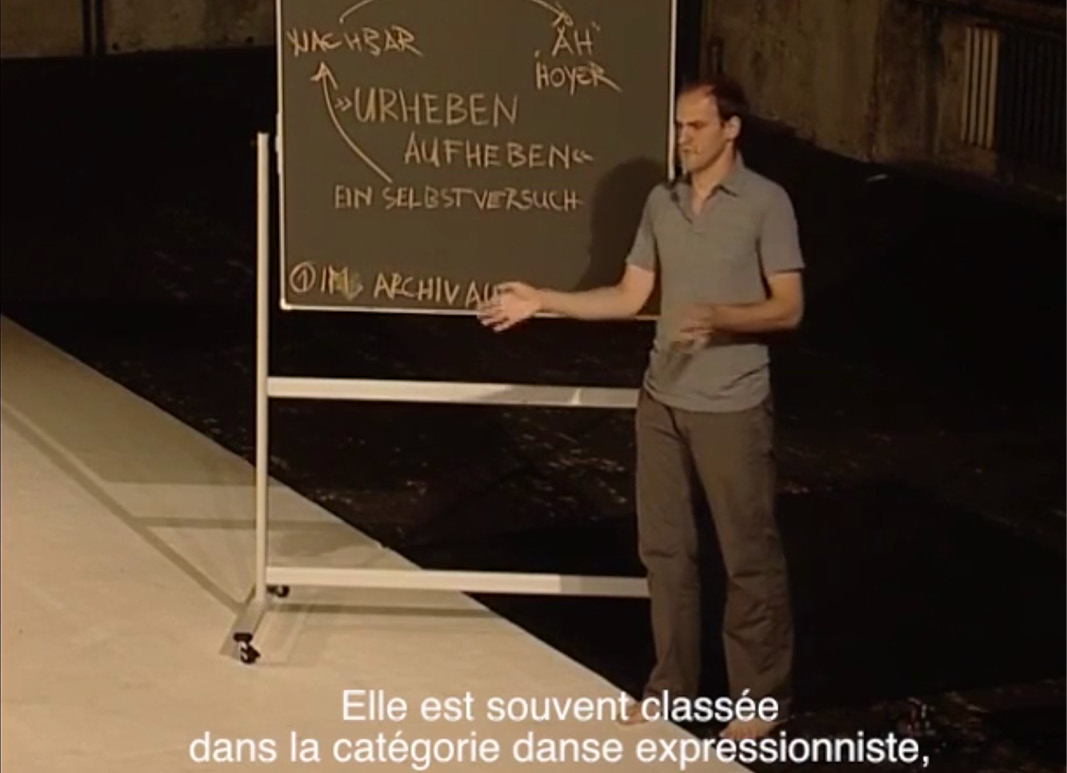 Video Dore Hoyer & Martin Nachbar