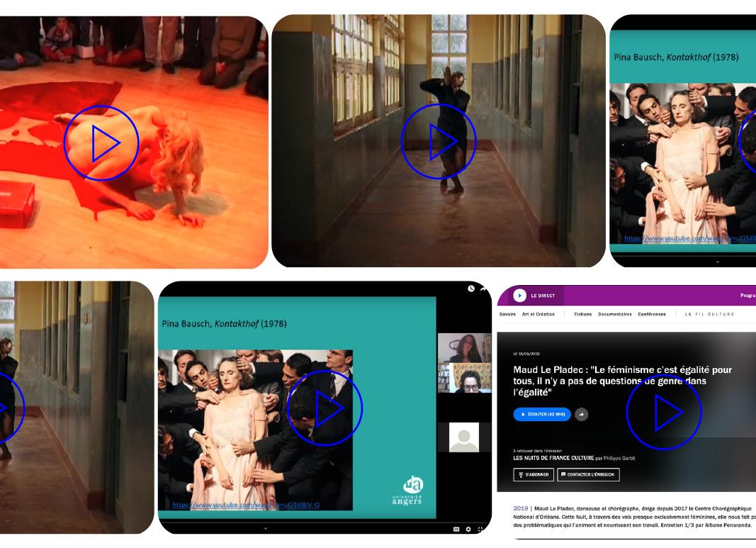 Selection audio - vidéo danse et féminisme