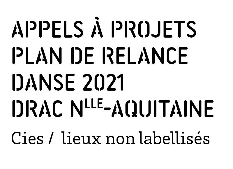 relance danse Drac Nouvelle Aquitaine