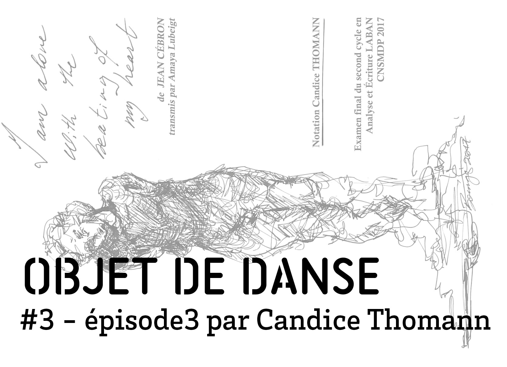 objet de dance3 episode 3 par Candice Thomann