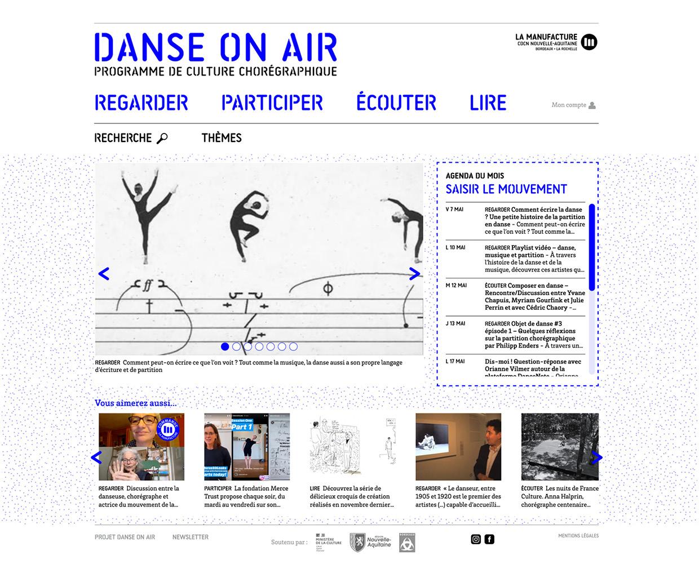Aller sur Danseonair.org